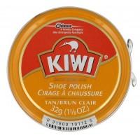 Kiwi Shoe Polish, Tan, 1.125 Ounces