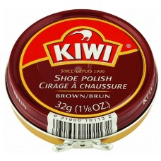 Kiwi Shoe Polish, Brown, 1.125 Ounces