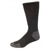 Medipeds Nanoglide Crew Socks 4 Pair, Black, M13-15