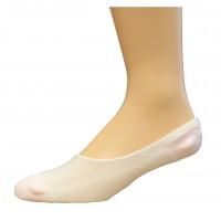 Medipeds Nanoglide Liner Socks 3 Pair, White, W9-11 / M9-12.5