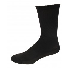Medipeds Cushion Crew Socks 4 Pair, Black, M9-12.5