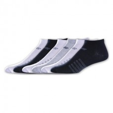 NB Lifestyle No Show Socks, Large, Ast3, 6 Pair