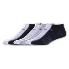 NB Lifestyle No Show Socks, Large, Ast3, 6 Pair
