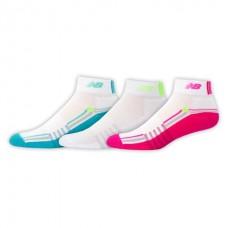 NB Core Performance Ankle Socks, Medium, Ast, 3 Pair