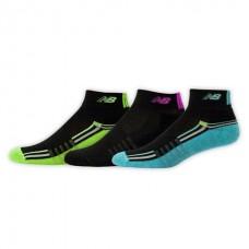 NB Core Performance Ankle Socks, Medium, Ast1, 3 Pair