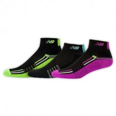 NB Core Performance Ankle Socks, Medium, Ast3, 3 Pair