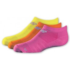 NB Kids No Show Socks, Large, Ast1B, 3 Pair