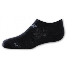 NB Kids No Show Socks, Large, Ast2B, 3 Pair