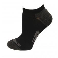New Balance Strategic Cushion Running No Show Socks, Black, (L) Ladies 10-13.5/Mens 8.5-12.5, 3 Pair
