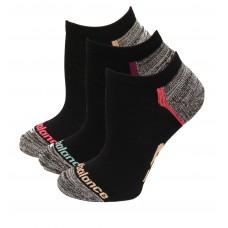 New Balance Strategic Cushion Running No Show Socks, Pink, (M) Ladies 6-10/Mens 6-8.5, 3 Pair