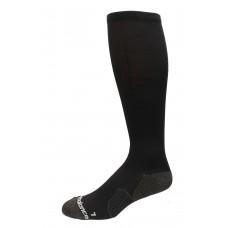 New Balance Strategic Cushion Running Over The Calf Socks, Black, (M) Ladies 6-10/Mens 6-8.5, 1 Pair