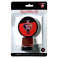 Sof Sole Blister Shine Kit, Brown