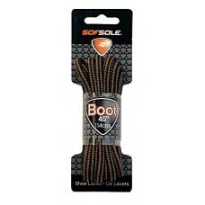 Sof Sole Boot Round, Brown / Black, 45 inch
