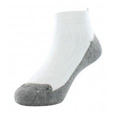 Sof Sole All Sport Low Cut Athletic Performance Socks, White, Youth 10-4.5, 6-Pack