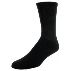 Sof Sole All Sport Crew Athletic Performance Socks, Black, Mens Large 10-12.5, 6-Pack