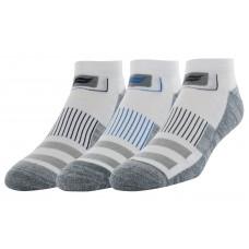 Sof Sole Multisport Cushion 3 Pair Men's Socks, White, Men's 8-12.5