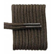 FeetPeople High Quality Round Laces For Boots And Shoes, Brown