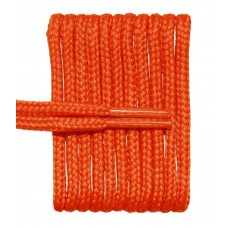 FeetPeople High Quality Round Laces For Boots And Shoes, Burnt Orange