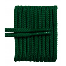 FeetPeople High Quality Round Laces For Boots And Shoes, Hunter Green