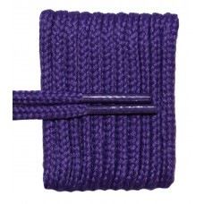 FeetPeople High Quality Round Laces For Boots And Shoes, Purple