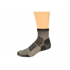 Wise Blend Men's Everyday Quarter Socks, 1 Pair, Black, Medium, Shoe Size M 9-13