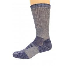 Wise Blend Men's Everyday Crew Socks, 1 Pair, Denim, Medium, Shoe Size M 9-13