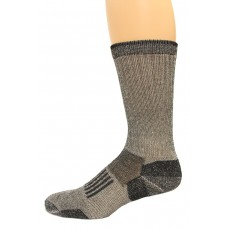 Wise Blend Men's Everyday Crew Socks, 1 Pair, Black, Medium, Shoe Size M 9-13