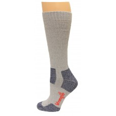 Riggs by Wrangler Steel Toe Boot Sock 2 Pack, Grey, M 8.5-10.5