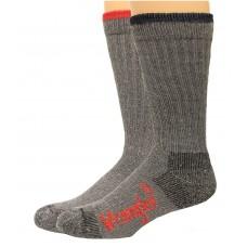 Wrangler Men's Pro Gear Wool Blend Socks 2 Pair, Grey Assort, Men's 9-13