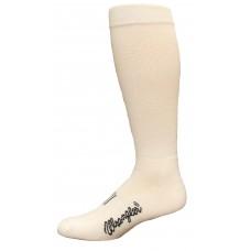 Wrangler Western Boot Sock 2 Pair, White, W 10-12 / M 8.5-10.5